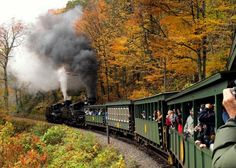Pocahontas County. The Cass Scenic Railroad is the same line built in 1901 to haul lumber to the mill in Cass. The locomotives are the same Shay locomotives used in Cass, and in the rainforests of British Columbia for more than a half-century. Many of the passenger cars are old logging flat-cars that have been refurbished.