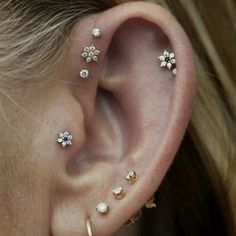 15 Pretty Ear Piercings That'll Inspire You To Add More Studs, Stat