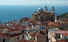 Samos Samos Greece, Island, Mansions, House Styles, Greece, Manor Houses, Villas, Islands, Mansion