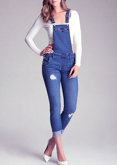 outfit casual con jeans rotos - Buscar con Google