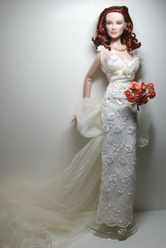 SHEENA: Redhead Brides Dressing