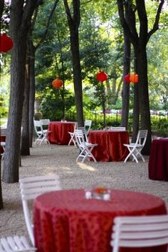 outdoor wedding ideas, one of my top 10 wants :D