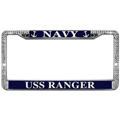 MY SON IS A MARINE METAL MILITARY License Plate Frame Tag Holder