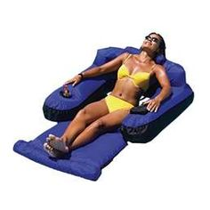 Lounge Pool Chair Float Inflatable Floating Swimming Lounger Water New Raft Lake Floating Lounge Chairs, Pool Lounge Chairs, Dining Chairs, Pool Lounge Float, Inflatable Float, Inflatable Pool Loungers, Pool Accessories, Pool Floats, Lake Floats