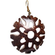 Stylish  Eco Friendly Coconut Shell earrings. These are absolutely gorgeous and can be worn to work or party. Buy these at http://fleafashions.com/earrings/coco-beads-earrings.html