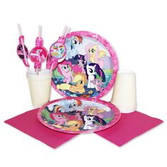 My Little Pony party supplies!