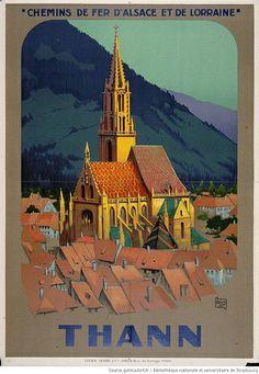 Thann, Chemins de fe