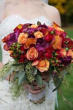 30 Fall Wedding Bouquets For Autumn Brides | Fall Weddings ...