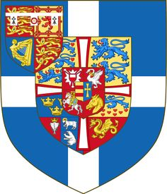 Arms of Philip Mountbatten (1947-1949)