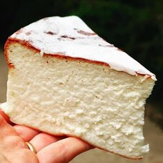 Un cheesecake japonais Cheesecake Cake, Cheesecake Recipes, Dessert Recipes, Delicious Desserts, Yummy Food, Desserts With Biscuits, Pastry Cake, Love Food, Cupcake Cakes