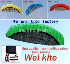 High quality 2.5m Dual Line Stunt Parafoil Kite Power soft kite various colors choose wei kite factory free shipping