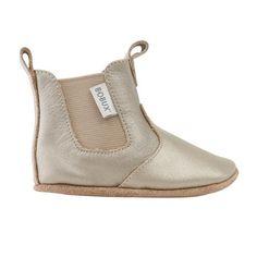 Soft sole gold jodphur boot | Babylonia baby webshop