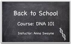 It's back to school season, so why not check out these five free lessons on DNA from AncestryDNA's own Anna Swayne:  http://ancstry.me/1tr4xfo #AncestryDNA #DNA #BacktoSchool #Genealogy #familyhistory