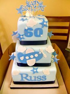 Wrightberry's custom birthday cake