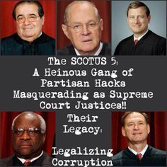 Is the Supreme Court About to Further Legalize Political Corruption?