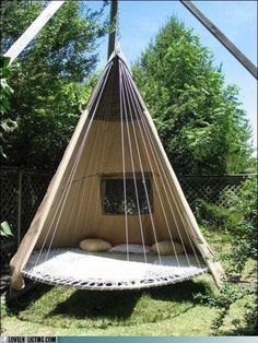 pull the covers all the way around and you have a perfect tent to sleep in.