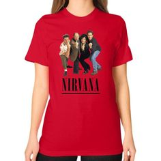 Nirvana Seinfeld Unisex T-Shirt (on woman)