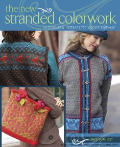 """Read """"The New Stranded Colorwork Techniques and Patterns for Vibrant Knitwear"""" by Mary Scott Huff available from Rakuten Kobo. Classic Norwegian knitting techniques are reinvigorated with a modern twist in this clear and concise handbook to strand. Knitting Books, Free Knitting, Baby Knitting, Knitting Charts, Knitting Magazine, Crochet Magazine, Punto Fair Isle, Easy Crochet, Knit Crochet"""