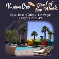 VEGAS BABY!!! What a deal ... 7 Nights for $349.00! Visit www.thrivingtimes.wakeupnow.com to become a member of the Vacation Club!
