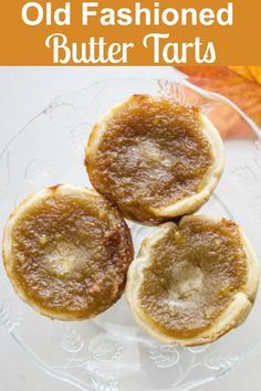 Old Fashioned Butter Tarts - An Italian in my Kitchen Old Fashioned Butter Tarts, the best Homemade Canadian Recipe, with the perfect sweet runny filling, dessert or snack idea. Köstliche Desserts, Delicious Desserts, Dessert Recipes, Yummy Food, Tart Recipes, Baking Recipes, Cookie Recipes, Easy Pastry Recipes, Best Butter Tart Recipe