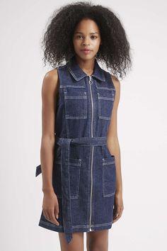 Photo 3 of MOTO Zip Through Shirt Dress