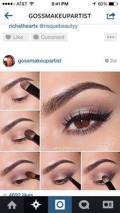Pretty eye look