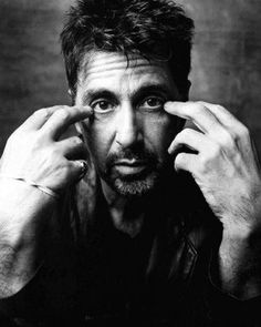Al Pacino...looks just like my first husband in this pic! Lol