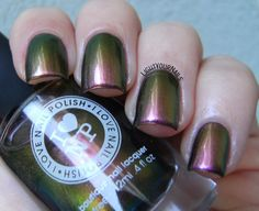 Indie Inlinkz - Favorite Fall Color: ILNP Nostalgia - Light Your Nails!