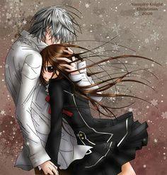 4th couple- Zero Kiryu and Yuki Cross of Vampire Knight!