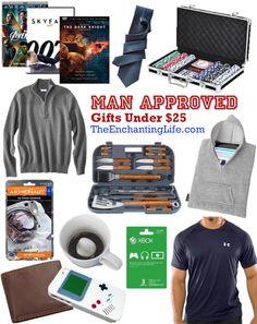addf73086bf5 Men s Valentine Gift Ideas Under 25 dollars on TheEnchantingLife.com  Valentines Presents For Him