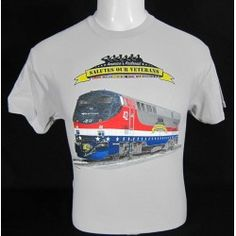 Amtrak Salute our Veterans Tan T-Shirt