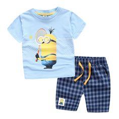 Children Clothes T-Shirt Tops + Pants 100% Cotton for 3-10 years Sports suit Summer Casual Outfits Clothing Set Boy Clothes Set♦️ B E S T Online Marketplace - SaleVenue ♦️ http://www.salevenue.co.uk/products/children-clothes-t-shirt-tops-pants-100-cotton-for-3-10-years-sports-suit-summer-casual-outfits-clothing-set-boy-clothes-set/ US $7.60
