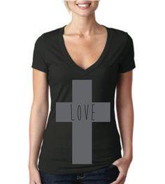 Love Cross Tshirt