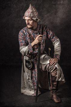 Reproduction of a 9th Century Khazar's garments.