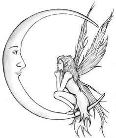 Fairy Tattoo Design | The Body is a Canvas Now this one I really like for it's delicacy....
