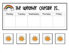 kindergarten patterns of change weather on pinterest weather unit kindergarten blogs and. Black Bedroom Furniture Sets. Home Design Ideas