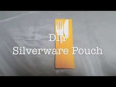 Tired of your napkin flying away at BBQs? Try this DIY Silverware Pouch - Napkin Fold AD https://youtu.be/DwoaoAXDOPI via @yoursassyself.com