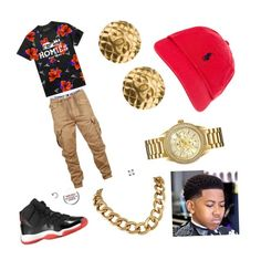 """Trynna Smaaash"" by sierra-mendez on Polyvore featuring Polo Ralph Lauren, Chanel, Bulova, men's fashion and menswear"