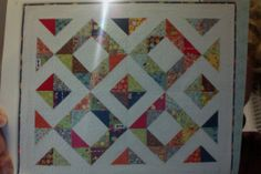 """""""Jennifer"""" charm pack quilt pattern.  From  '3 Times the Charm, Book 2' by Me and My Sister Designs"""