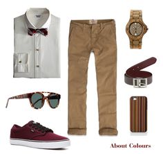 About Colours: Men's Outfit ---> Casual Safari