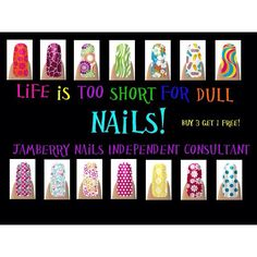 Ask me about Jamberry Nails Www.facebook.com/berrynailtastic