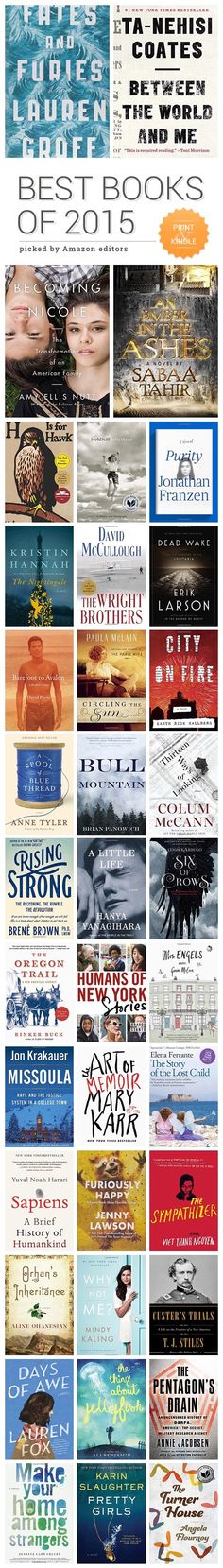 Amazon has announced Top 100 #books of 2015 - what are your favorites?  Read more ⇢
