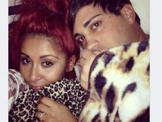 """Bedtime Bonding     Snooki and Jionni are letting us in on their bedtime snuggling. """"Morning sunshine,"""" she tweeted on Jan. 18."""