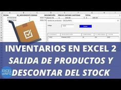 Inventory in Excel Part 2 - in and out stock Vba Excel, Excel Hacks, Y Words, Microsoft Excel, Study Tips, How To Be Outgoing, Windows Office, Software, Engineering