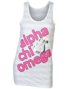 Alpha Chi Omega Lyre Tank