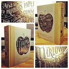 Cover by Jon Contino for The Marlowe Papers