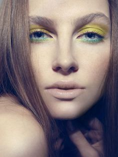 Garden goddess look with OCC Loose Colour Concentrates #crcmakeup