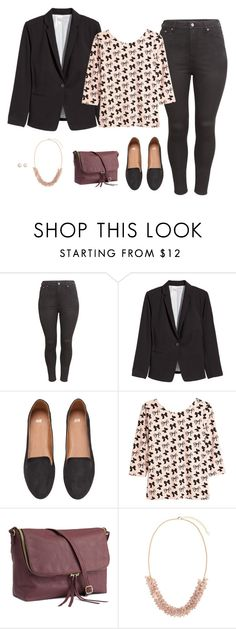 """""""quick errands"""" by crysmaggio ❤ liked on Polyvore featuring H&M and casual"""
