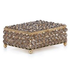 Winston Box from Z Gallerie-love this box!  So pretty in a bedroom setting.