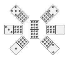 Chickenfoot Dominoes